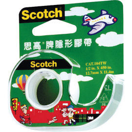 3M Scotch 104輕便型隱形膠帶