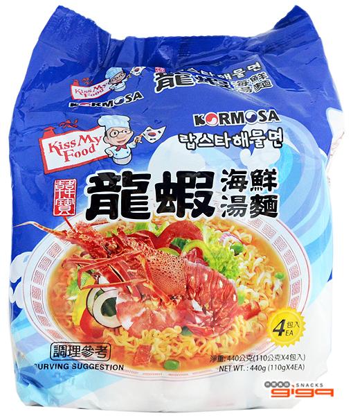 【吉嘉食品】KORMOSA 龍蝦海鮮湯麵/海鮮麵 1包110公克29元{8936028640558}[#1]