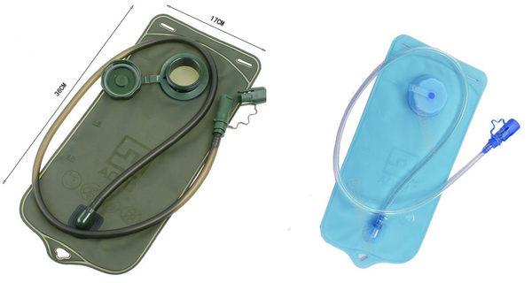 小口水袋2L附吸嘴水管單車跑步專用