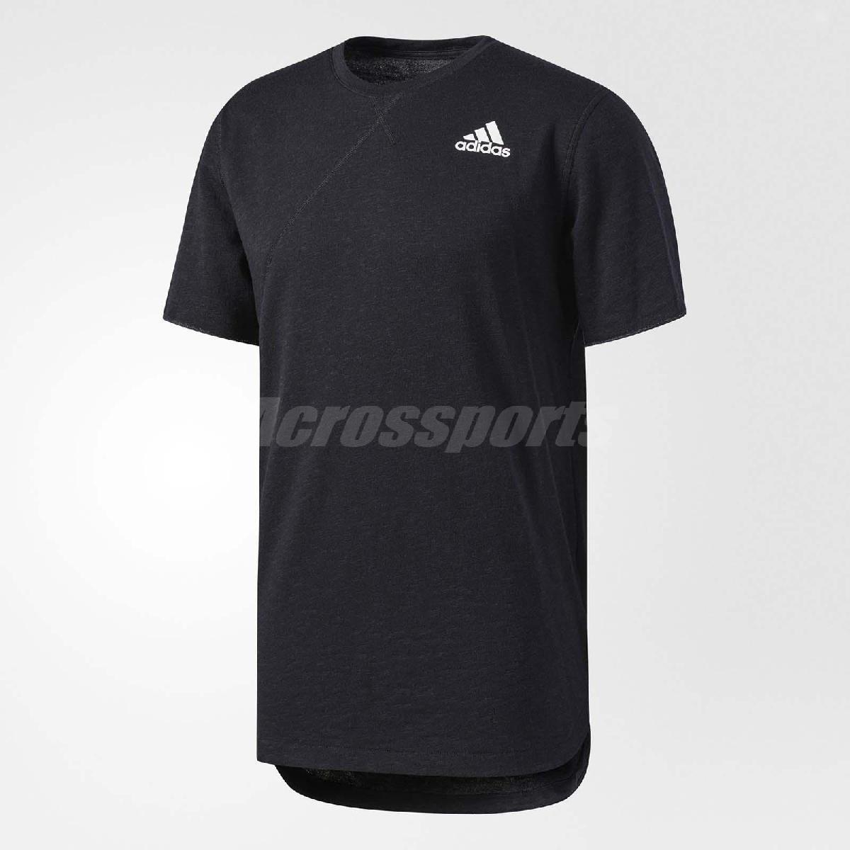adidas T恤 Cross-Up Bball Tee 男款 短袖 上衣 三條線 運動 籃球 球衣 素面 黑 【PUMP306】 BR4600