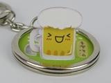 ☆猴子設計☆ 2280 台灣啤酒-立體鑰匙圈