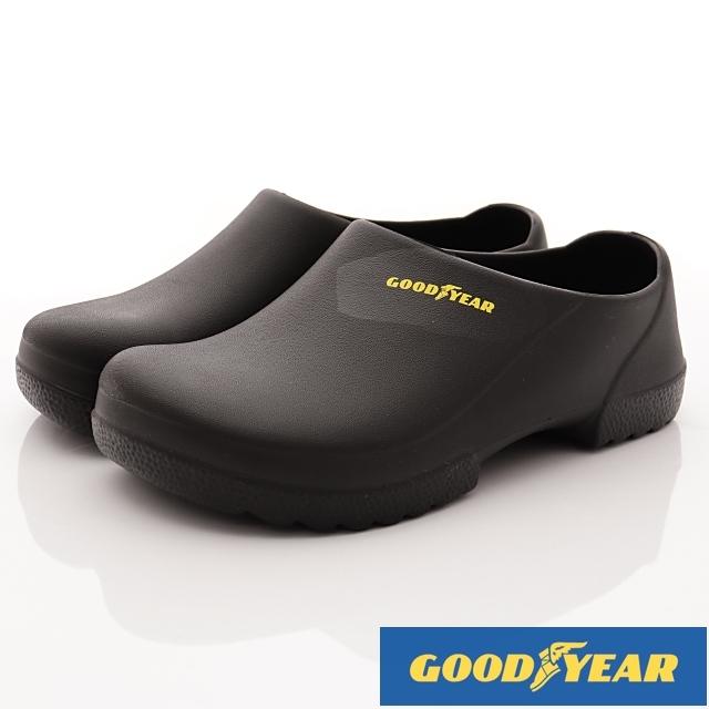 GOODYEAR-超輕量防水輕便鞋-MSE3830黑24cm~29cm