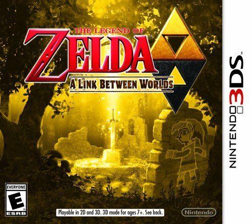 3DS The Legend of Zelda:A Link Between Worlds薩爾達傳說:眾神的三角神力2美版代購
