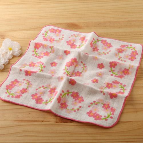 日本紗布巾和心傳梅園25*25 cm手巾二重紗布巾taoru日本毛巾