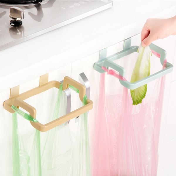 廚房用品 掛式多功能架 / 垃圾袋掛架 抹布掛架  【KFS077】收納女王