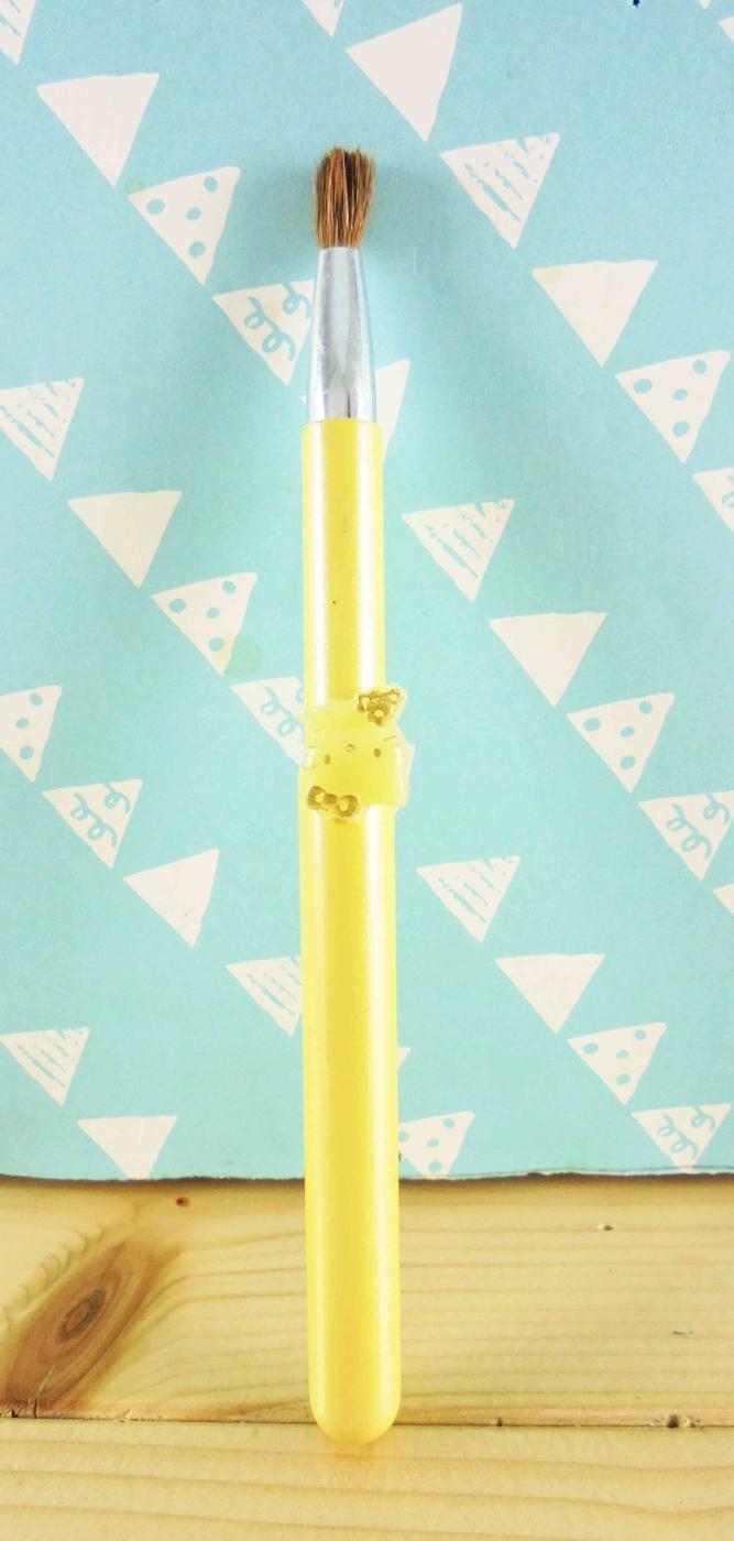 震撼精品百貨Hello Kitty凱蒂貓~KITTY伸縮唇筆-黃色