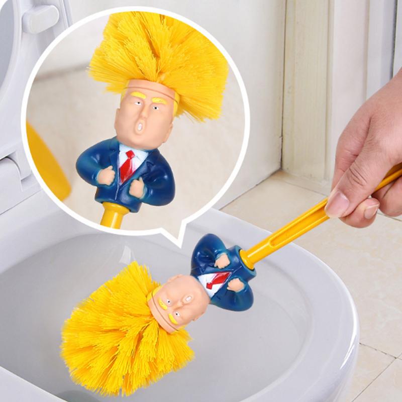 趣味 搞笑 造型馬桶刷 易清洗塑料材質 柔軟刷頭 抗腐蝕 不開裂 不傷馬桶 浴室清潔【Z90552】