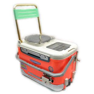 030A款不鏽鋼配件釣魚箱可坐快樂垂釣用品