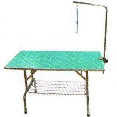 ZOO寵物樂園美容師專用進口專業固定式美容桌附底網M號