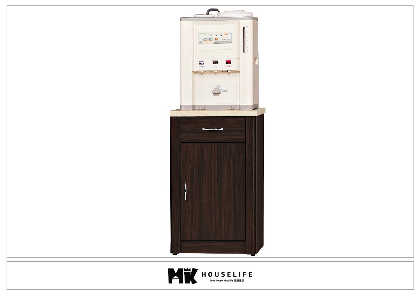 【MK億騰傢俱】BS310-05艾力森胡桃色1.5尺仿石面碗盤餐櫃下座
