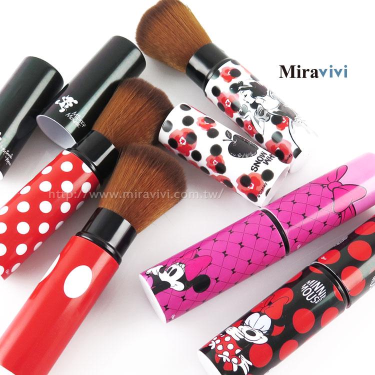 【Disney】可伸縮彩妝刷具/修容刷/腮紅刷/蜜粉刷/定妝刷