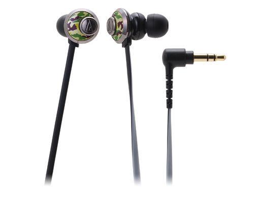 台中平價鋪全新鐵三角ATH-CKF77耳塞式耳機迷彩優美曲線女性專屬台灣鐵三角公司貨