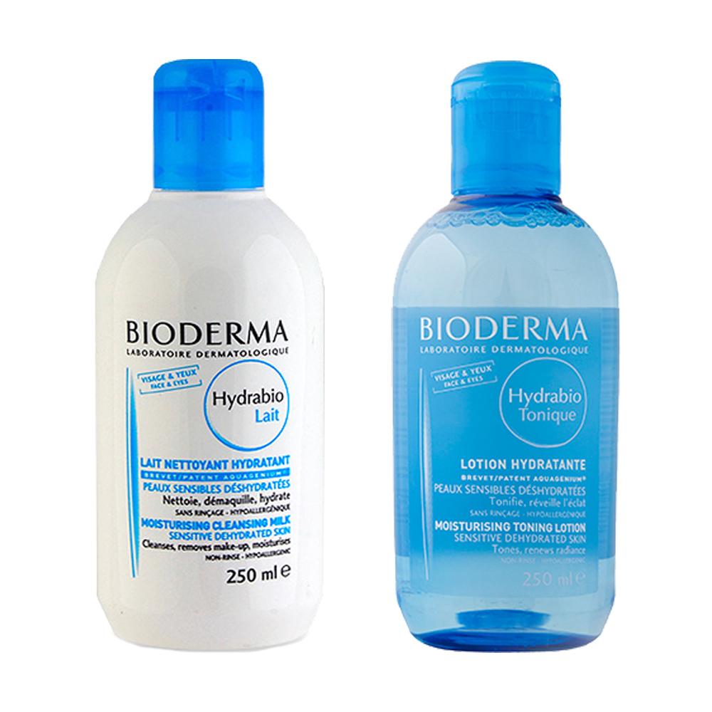 Bioderma貝德瑪超值組控油卸妝潔膚水混合或油性皮膚控油去角質凝膠1 set 2 pcs玫麗網