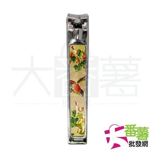 金色立體花紋指甲剪/指甲刀 大 [EG2]-大番薯批發網