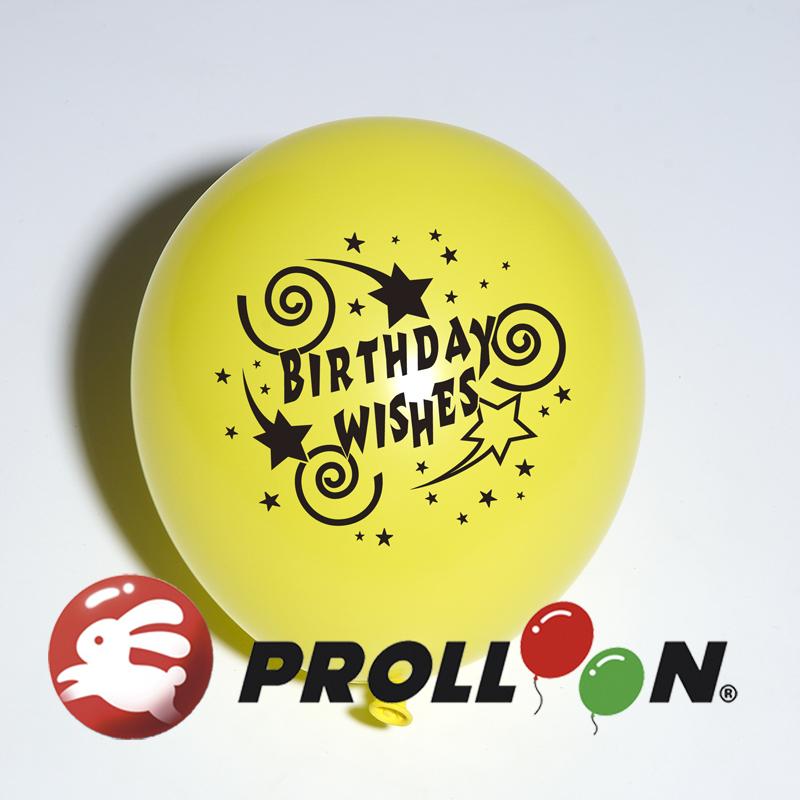 【大倫氣球】生日系列印刷氣球-10吋圓形(糖果色) 一面一色印刷氣球,慶祝生日、Birthday Party