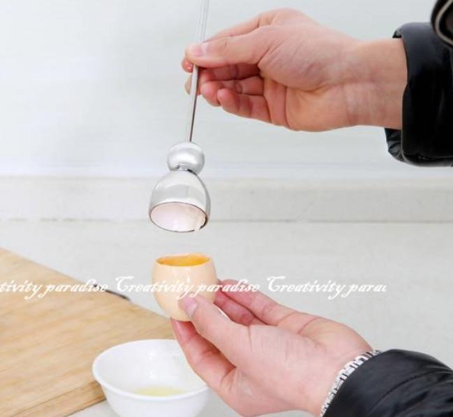 【開蛋殼器】雞蛋開殼器 打蛋器 剝殼器 剝蛋器 敲擊開蛋器 切殼器