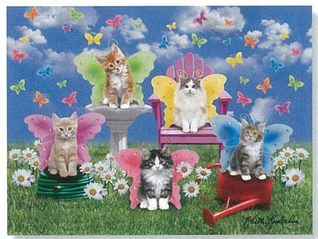 Ravensburger維寶100片拼圖-可愛貓咪