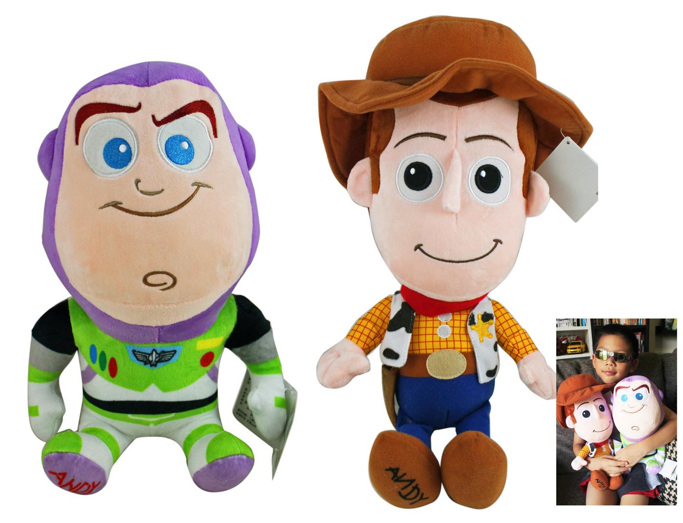 【卡漫城】 絨毛 玩偶 30cm 二選一 ㊣版 巴斯光年 胡迪 woody Buzz 娃娃 布偶 玩具總動員 裝飾 擺飾