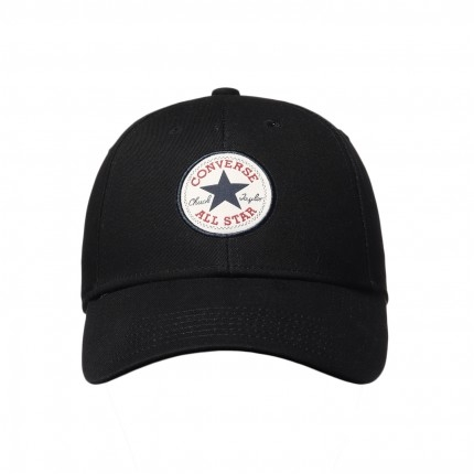CONVERSE-黑色棒球帽-NO.10008476-A01