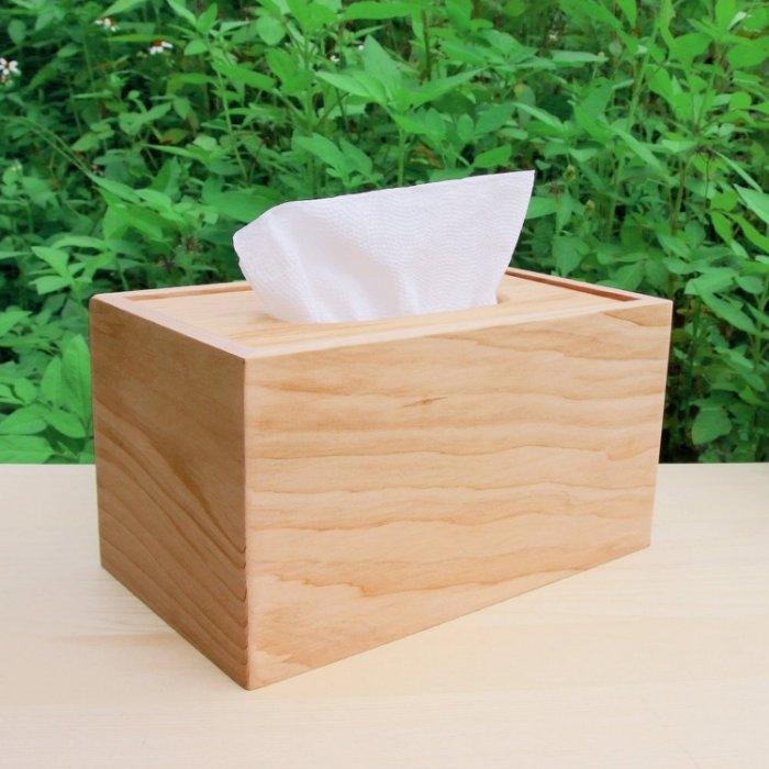 木樂館原木台檜衛生紙盒台灣檜木活動式面紙盒木盒置物盒居家雜貨