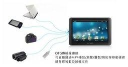 【妃航】超實用! Mini USB OTG 轉接線 傳輸線/數據線/平板/MP4/PDA/智慧型手機