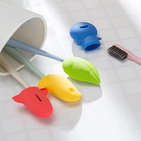 米菈生活館S60-1便攜式卡通牙刷套保護套洗漱衛浴衛生防塵乾淨安全兒童戶外旅行