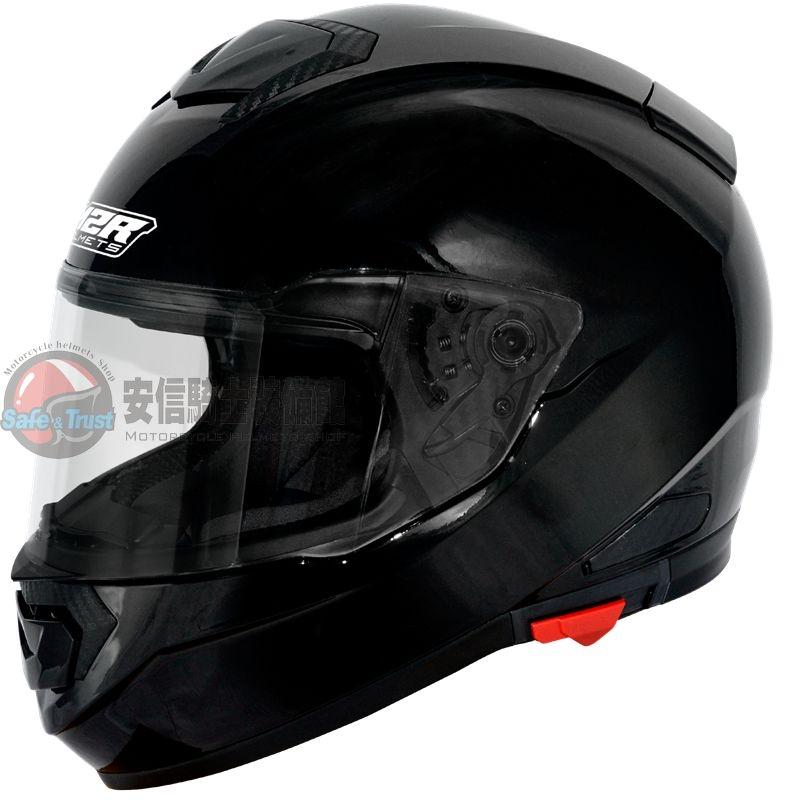中壢安信M2R F-5 F5素色素黑全罩安全帽買就送好禮2選1