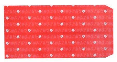 成昌4號12k小花圖案貼心禮物袋款式隨機出貨-100張束