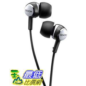 美國直購Denon AH-C260 Acoustic Luxury In-Ear Headphones Black耳機