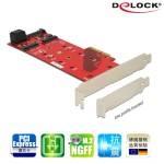 Delock M.2 NGFFx3 PCI ep擴充卡