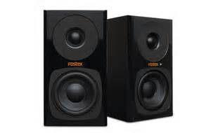 凱傑樂器FOSTEX PA-3主動式監聽喇叭JET BLACK