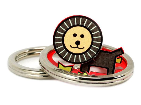 ☆猴子設計☆獅子立體鑰匙圈