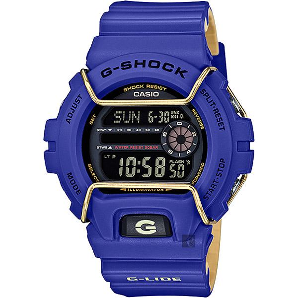 CASIO卡西歐G-SHOCK抗寒極限腕錶-藍GLS-6900-2DR GLS-6900-2