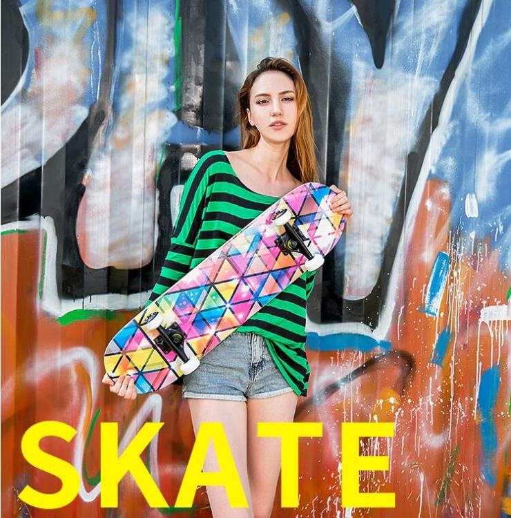滑板四輪青少年成人兒童