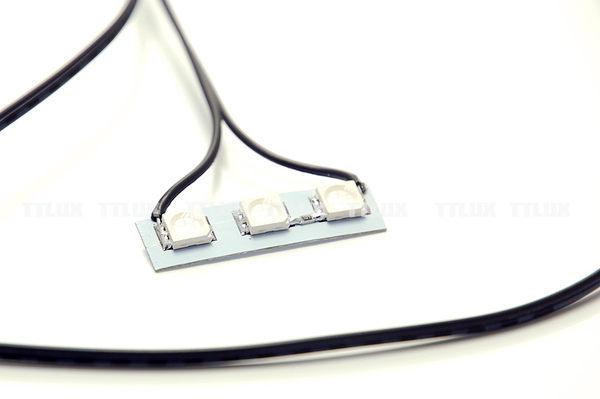 3SMD UV LED燈板 不防水(輪框發亮 夜光輪 輪框燈)