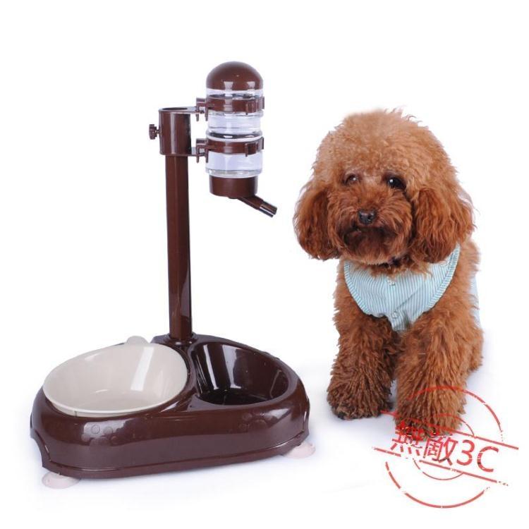 寵物狗狗飲水器 可升降自動飲水器【無敵3c旗艦店】