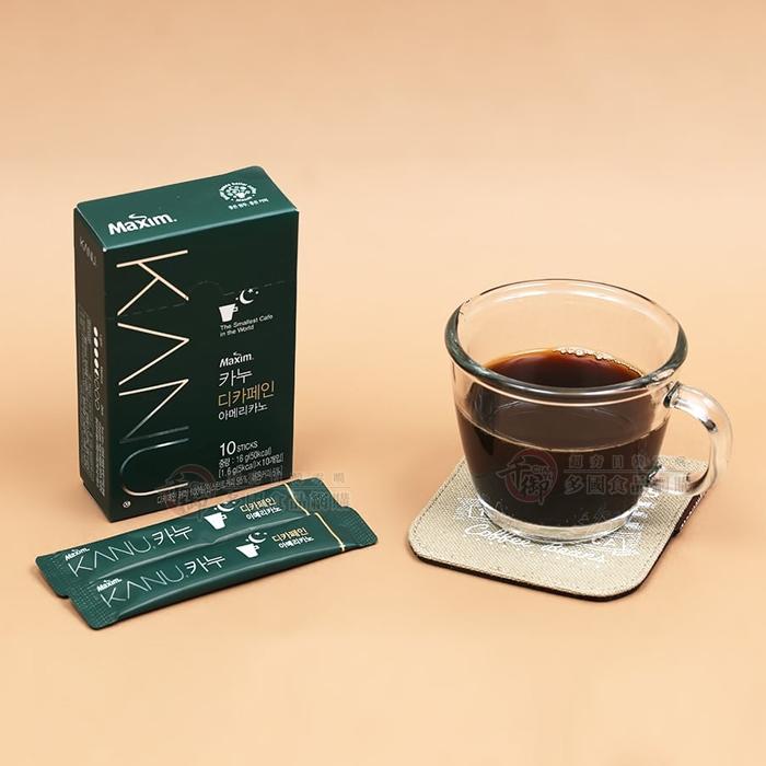 韓國KANU美式咖啡系列(包) 低咖啡因/有糖黑咖啡 孔劉代言 [KR053456]千御國際