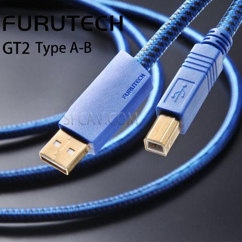 新竹勝豐群音響Furutech古河GT2 Type A-B USB數位訊號線傳輸線0.6M