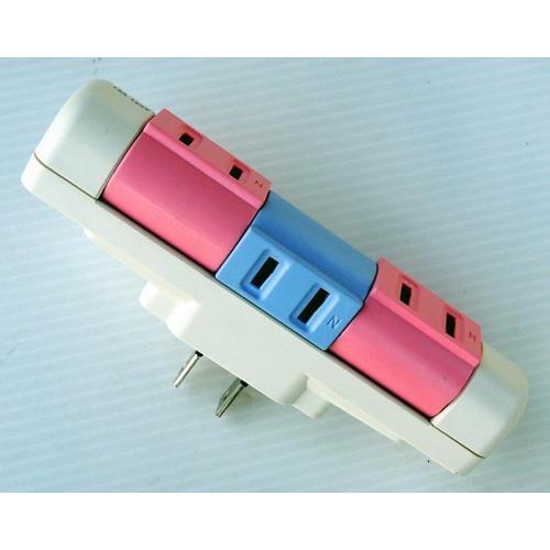 安全達人 R-5813 分接式轉向插座(3插座)