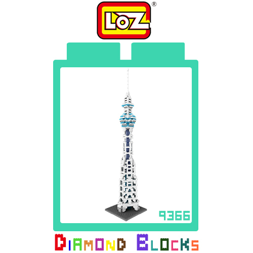 LOZ 迷你鑽石小積木 日本東京 晴空塔 世界建築 樂高式 組合玩具 益智玩具 原廠正版