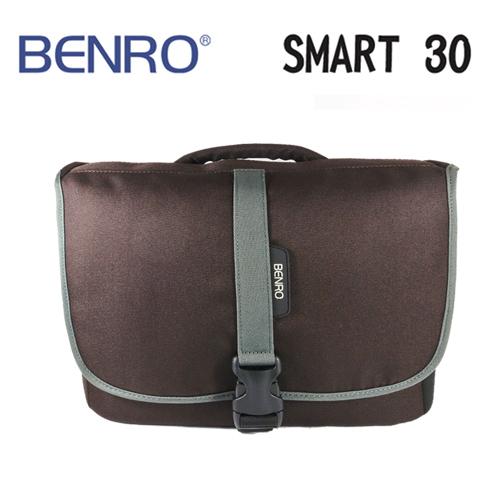 BENRO百諾精靈系列側背包SMART 30咖啡可放1機3鏡1閃12吋筆電勝興公司貨
