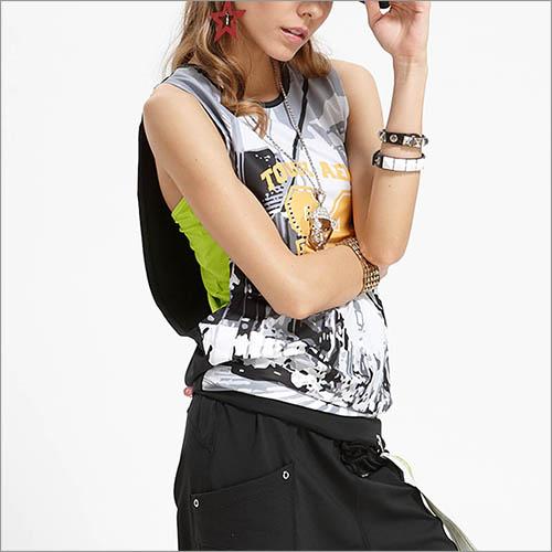 大挖袖背心罩衫CTA543商品圖不含內搭男女皆適宜-百貨專櫃品牌TOUCH AERO瑜珈服有氧服韻律服
