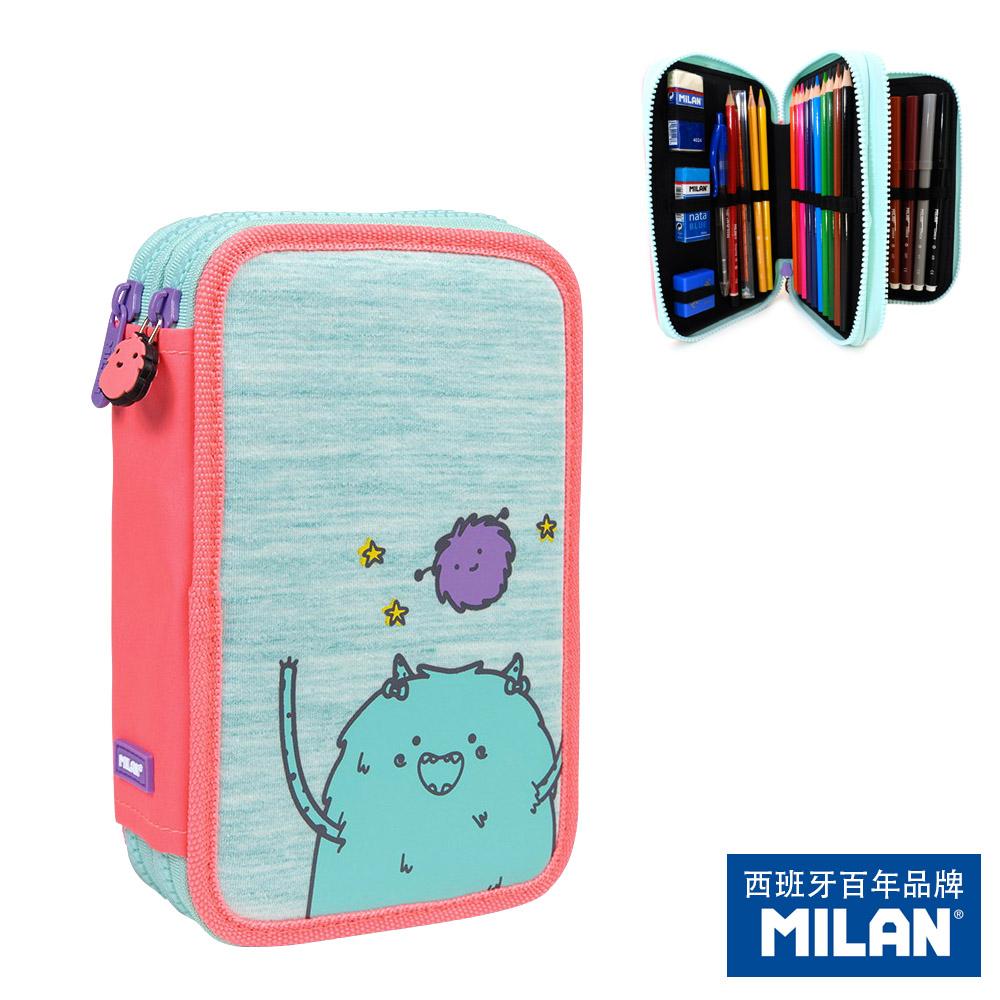 【MILAN】隨行畫筆袋著走_MIMO家族_Mama&Mimo(雙層式)