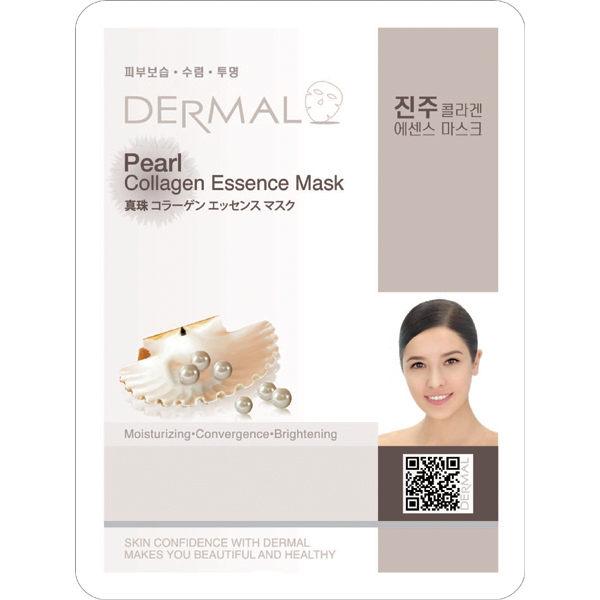 韓國【DERMAL】珍珠保濕亮采面膜 1入(23g)