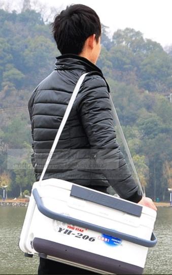 協貿國際不銹鋼配件背帶可坐釣魚箱子