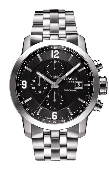 天梭TISSOT T-Sport PRC200三眼計時機械錶T0554271105700原廠公司貨