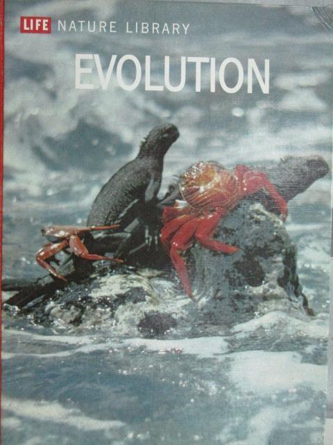 書寶二手書T4動植物YBU Evolution Life nature library1964