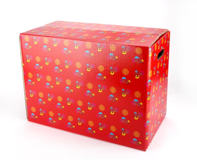 豐饌打包外帶箱5入組搬家年菜盒火雞烤雞外帶盒禮物盒布偶大紙盒