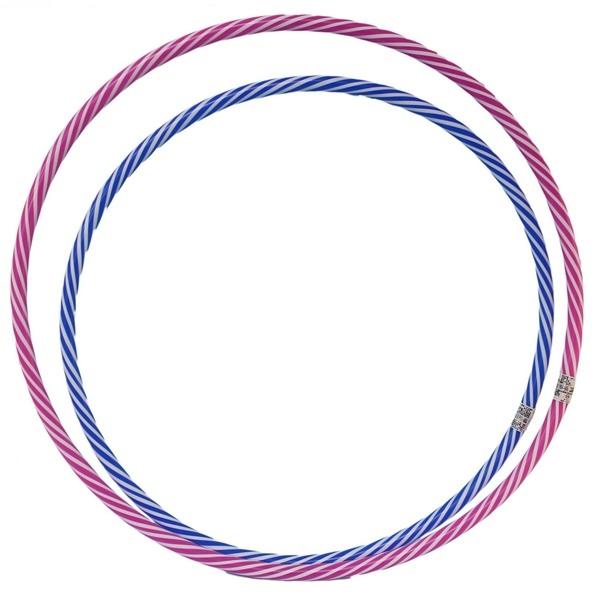 9號呼拉圈 一般雙色呼啦圈 (藍白色)/一個入{促39} 直徑54cm~台灣製造