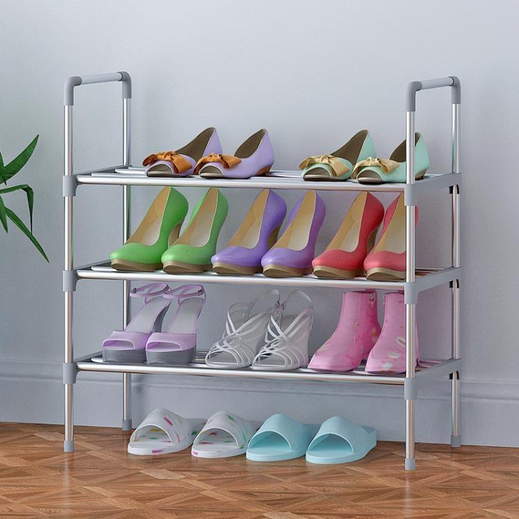 多層鞋架簡易家用迷你小號宿舍經濟型空間塑料鞋柜